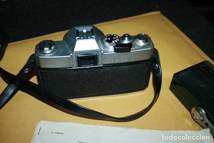 Cámara de fotos: camara mamiya msx 500 y flash marca kako 818 . bien conservada. instrucciones - Foto 2 - 109255459