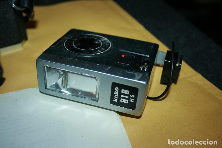 Cámara de fotos: camara mamiya msx 500 y flash marca kako 818 . bien conservada. instrucciones - Foto 6 - 109255459