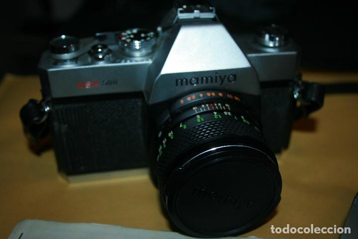 Cámara de fotos: camara mamiya msx 500 y flash marca kako 818 . bien conservada. instrucciones - Foto 7 - 109255459