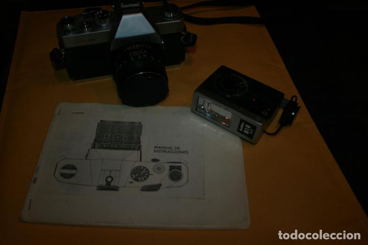 Cámara de fotos: camara mamiya msx 500 y flash marca kako 818 . bien conservada. instrucciones - Foto 8 - 109255459