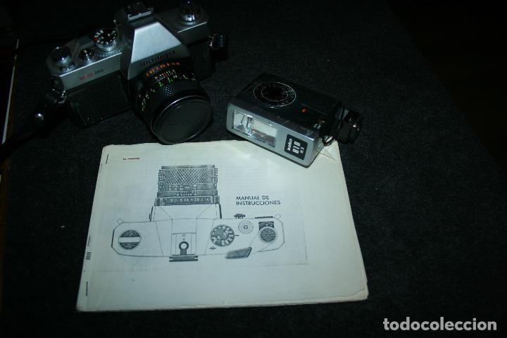 Cámara de fotos: camara mamiya msx 500 y flash marca kako 818 . bien conservada. instrucciones - Foto 9 - 109255459