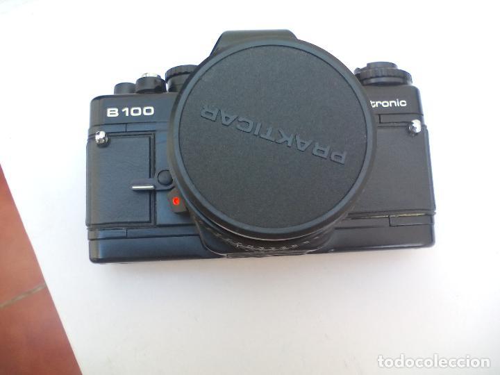 Cámara de fotos: CAMARA FOTOGRÁFICA PRAKTICA B100 ELECTRONIC.PENTACON GERMANY - Foto 7 - 110590551