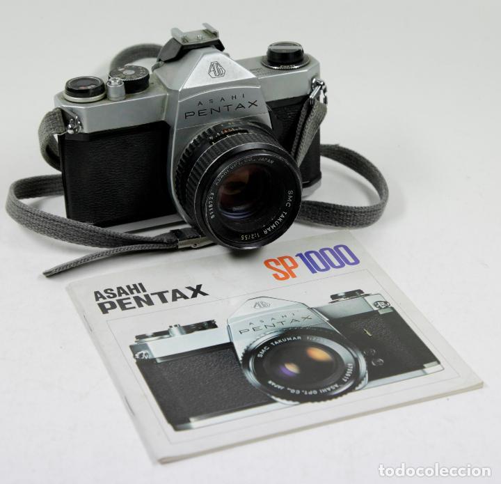 CÁMARA REFLEX ASAHI PENTAX SP 1000 CON CATÁLOGO (Cámaras Fotográficas - Réflex (no autofoco))