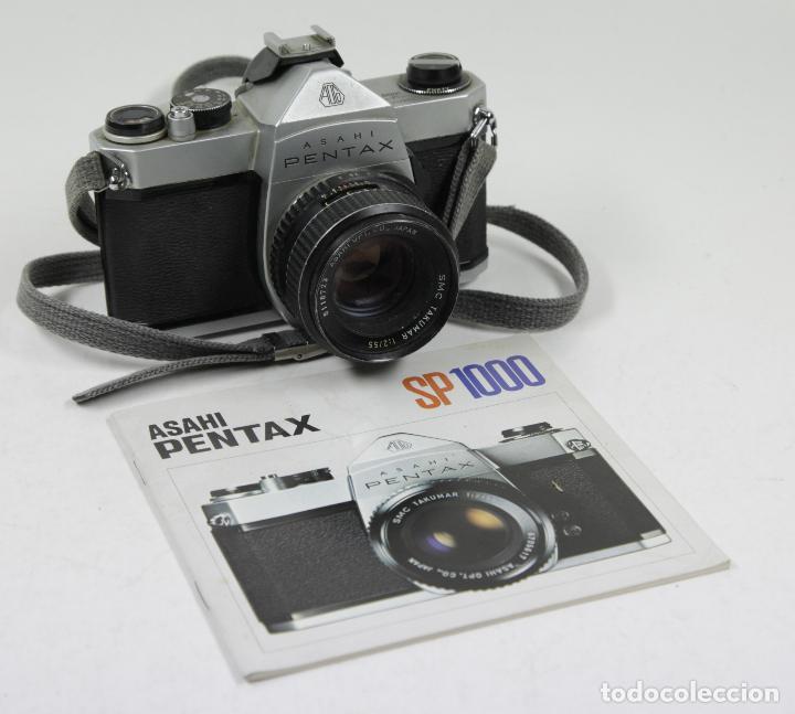 Cámara de fotos: Cámara reflex Asahi Pentax SP 1000 con catálogo - Foto 2 - 111325247