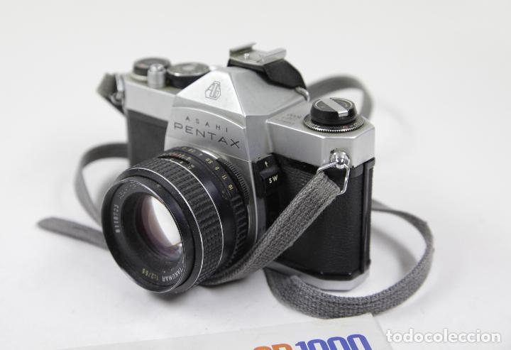 Cámara de fotos: Cámara reflex Asahi Pentax SP 1000 con catálogo - Foto 4 - 111325247