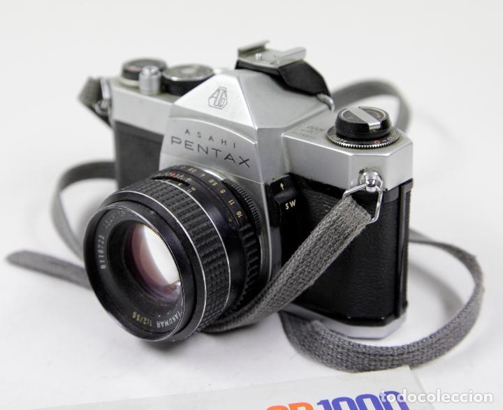 Cámara de fotos: Cámara reflex Asahi Pentax SP 1000 con catálogo - Foto 5 - 111325247
