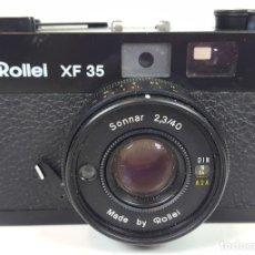 Cámara de fotos: CÁMARA FOTOGRÁFICA. ROLLEI XF 35, METAL Y PIEL. SINGAPUR. 1974.. Lote 111977531