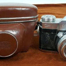 Cámara de fotos: CÁMARA FOTOGRÁFICA ZEISS IKON CONTAFLEX III. ALEMANIA. CIRCA 1950. . Lote 112410155