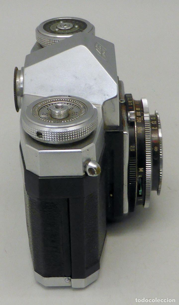 Cámara de fotos: Cámara Zeiss Ikon Tessar Opton 1:28 F 45 mm con su funda - Foto 2 - 112892559