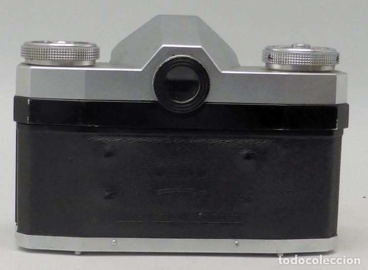 Cámara de fotos: Cámara Zeiss Ikon Tessar Opton 1:28 F 45 mm con su funda - Foto 3 - 112892559