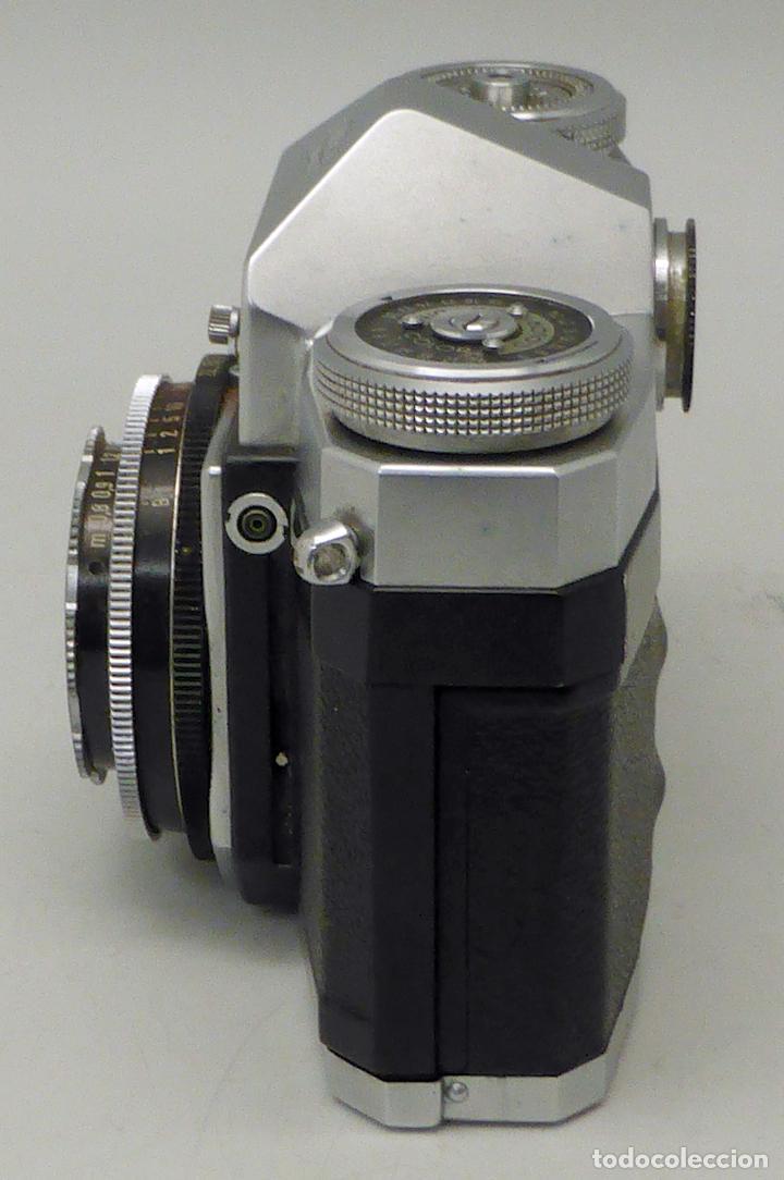 Cámara de fotos: Cámara Zeiss Ikon Tessar Opton 1:28 F 45 mm con su funda - Foto 4 - 112892559