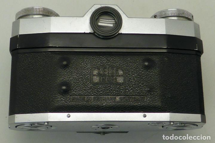 Cámara de fotos: Cámara Zeiss Ikon Tessar Opton 1:28 F 45 mm con su funda - Foto 5 - 112892559