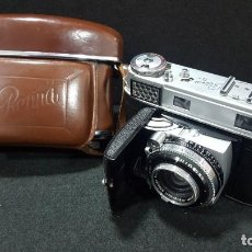 Cámara de fotos: CÁMARA DE FOTOS TELEMÉTRICA KODAK RETINA III C. Lote 113012671