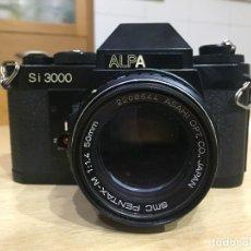 Cámara de fotos: SI 3000 ALPA OBJ 50MM PENTAX- M 1.4. Lote 113890387