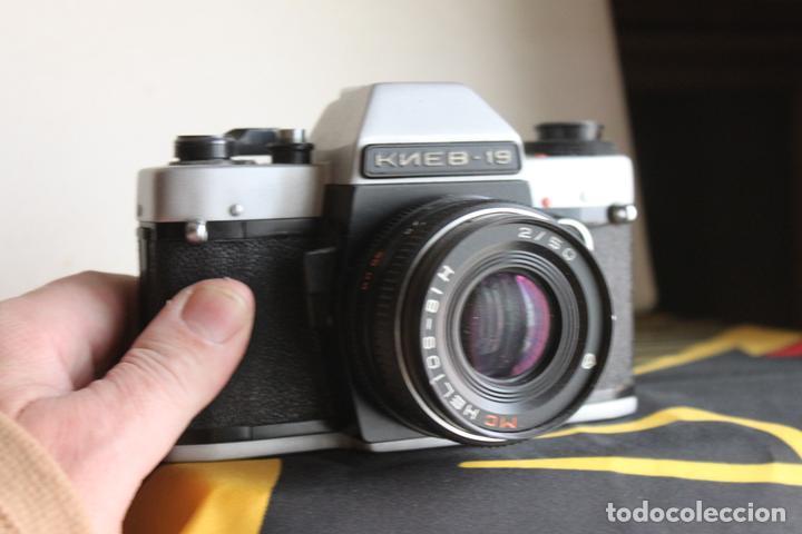 KIEV 19 + HELIOS 50MM F:2 (Cámaras Fotográficas - Réflex (no autofoco))