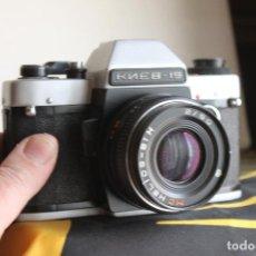Cámara de fotos: KIEV 19 + HELIOS 50MM F:2. Lote 114658619
