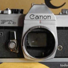 Cámara de fotos: CUERPO CANON FTB (QL). Lote 114929343