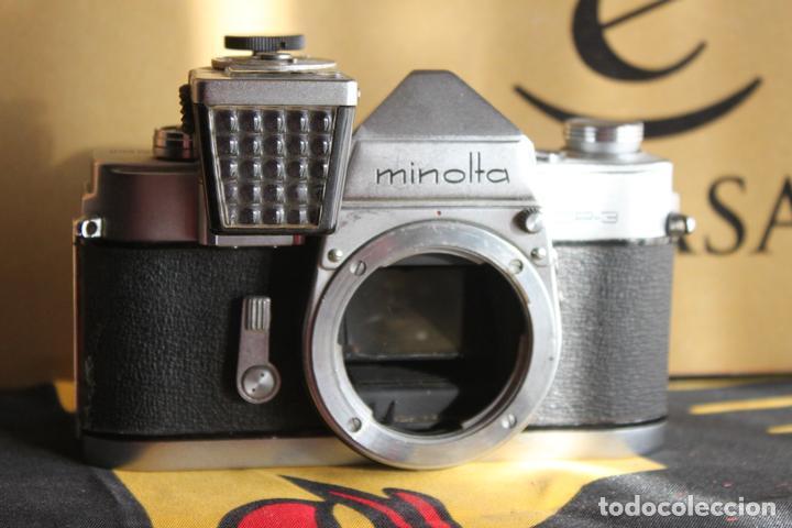MINOLTA SR-3 + FOTÓMETRO (Cámaras Fotográficas - Réflex (no autofoco))