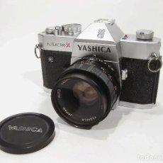 Cámara de fotos: CÁMARA DE FOTOS YASHICA TL ELECTRO X EN BUEN ESTADO. Lote 115128043