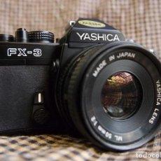Cámara de fotos: YASHICA, FX-3,ML 2-50MM. Lote 115147831