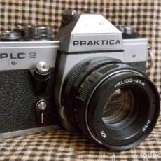 Cámara de fotos: PRAKTICA PLC2, HELIOS 44M. Lote 115148203