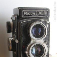 Cámara de fotos: TLR RICOH DIACORD (REFLEX DE DOS OBJETIVOS). Lote 115243655