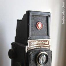 Cámara de fotos: ROLLEICORD (FRANKE & HEIDECKE) (TRIOTAR 75MM F:3,8). Lote 115243967