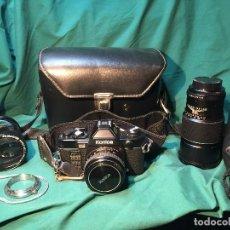 Cámara de fotos: LOTE CAMARA KONICA FP-1 PROGRAM. Lote 115325579