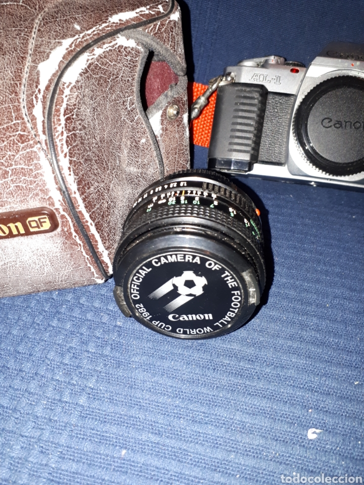Cámara de fotos: Lote cámara CANON REFLEX AL - 1 OBJETIVO 80 - 200 mm 1:4 OBJETIVO 50 mm FLASH CAÑON 166A - Foto 2 - 116232523