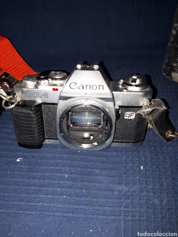 Cámara de fotos: Lote cámara CANON REFLEX AL - 1 OBJETIVO 80 - 200 mm 1:4 OBJETIVO 50 mm FLASH CAÑON 166A - Foto 6 - 116232523