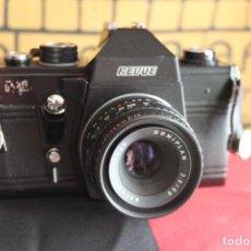 Cámara de fotos: CÁMARA REVUE ML + DOMIPLAN 50MM F:2,8. Lote 117228007