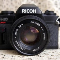 Cámara de fotos: CÁMARA RICOH KR-10, SUPER, RIKENON 1.7-50MM. Lote 119047899