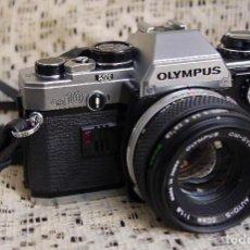 Cámara de fotos: CÁMARA OLYMPUS OM10, ZUICO 1.8-50MM. Lote 119049547