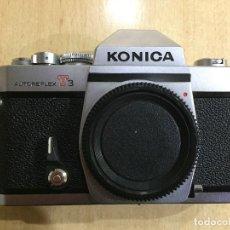 Cámara de fotos: KONICA AUTOREFLEX T3 . Lote 121699943