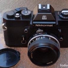Cámara de fotos: CLÁSICA NIKON NIKKORMAT EL.. Lote 121894327