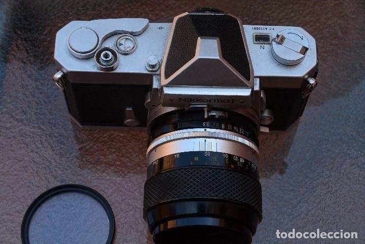 Cámara de fotos: Nikkormat FTN, CUERPO.estado de colección.Impecable. - Foto 3 - 121896295