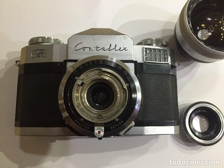 Cámara de fotos: CONTAFLEX ZEISS IKON - Foto 3 - 122334635