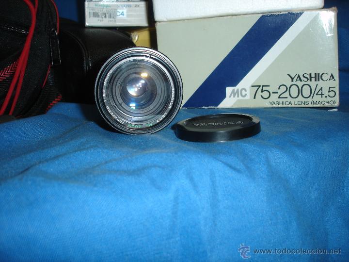 Cámara de fotos: CÁMARA FOTOS ANALÓGICA YASHICA FX-3 SUPER 2000 CON VARIOS OBJETIVOS - Foto 12 - 122720219