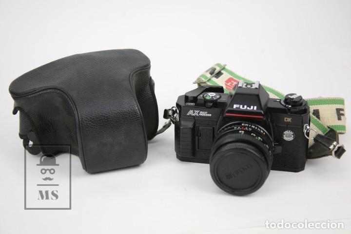CÁMARA FOTOGRÁFICA - FUJI AX MILTI PROGRAM - CON FUNDA ORIGINAL - MADE IN JAPAN (Cámaras Fotográficas - Réflex (no autofoco))