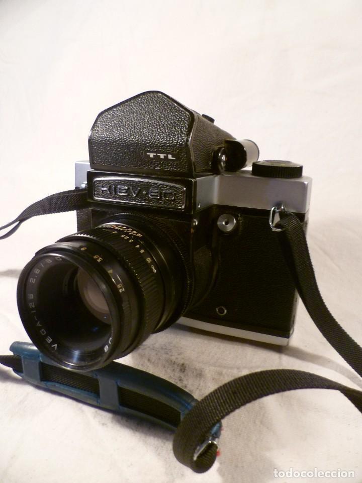 CÁMARA SOVIÉTICA, URSS, RUSA - KIEV 6C TTL DE 1979 (Cámaras Fotográficas - Réflex (no autofoco))