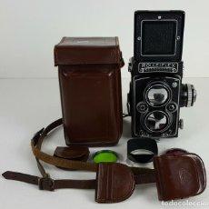 Cámara de fotos: CAMARA FOTOGRAFICA. ROLLEIFLEX TLR MODELO PLANAR. ALEMANIA. AÑOS 50/60.. Lote 127127435