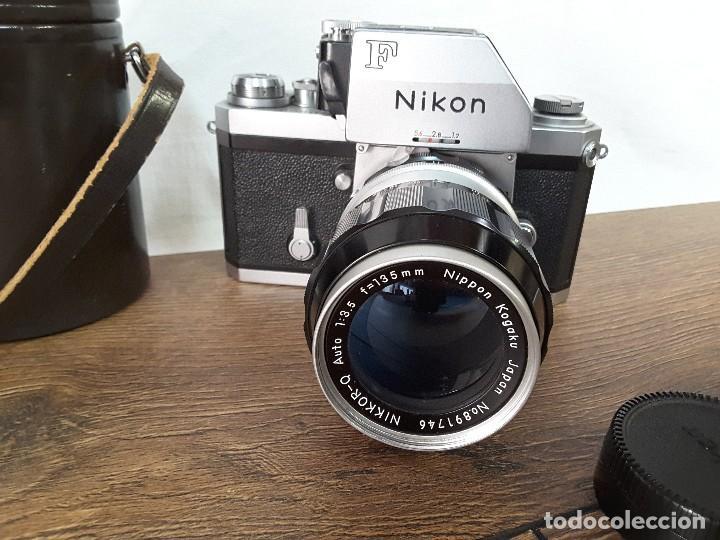 Cámara de fotos: Nikon F Photomic de 1969 - Foto 2 - 129272351
