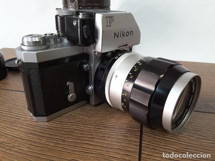 Cámara de fotos: Nikon F Photomic de 1969 - Foto 3 - 129272351