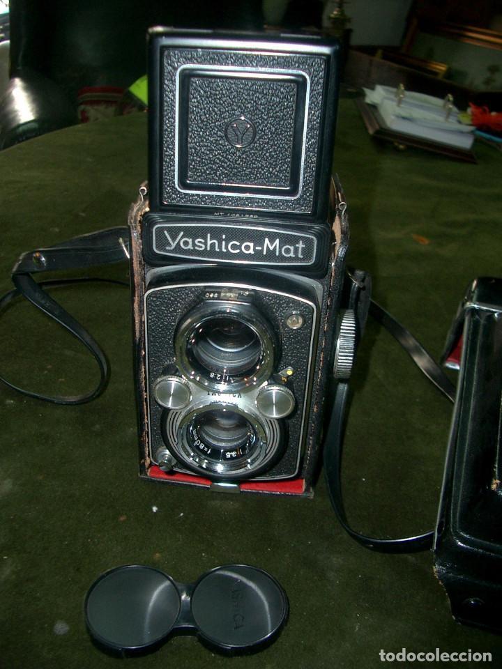 Cámara de fotos: Camara yashica-mat en su funda, japon.ca9 - Foto 3 - 129427587