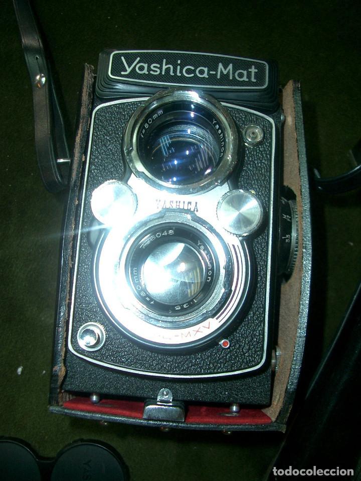 Cámara de fotos: Camara yashica-mat en su funda, japon.ca9 - Foto 6 - 129427587