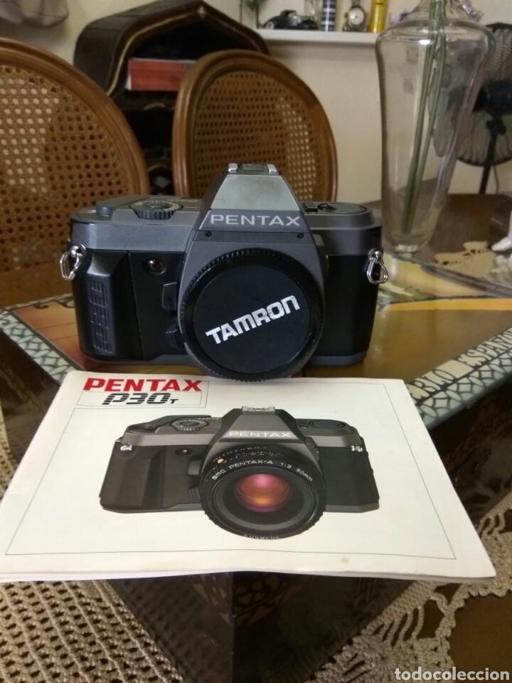 CÁMARA FOTOS PENTAX P 30 +LIBRO INSTRUCCIONES (Cámaras Fotográficas - Réflex (no autofoco))