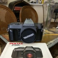 Cámara de fotos: CÁMARA FOTOS PENTAX P 30 +LIBRO INSTRUCCIONES. Lote 131038231
