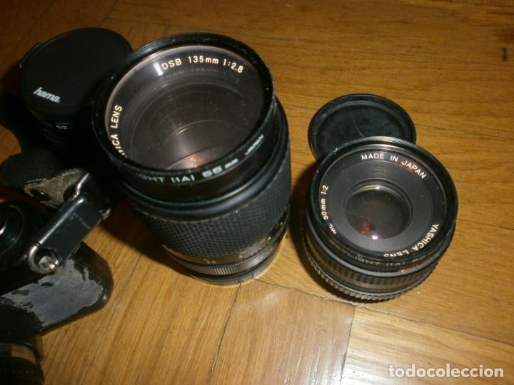 Cámara de fotos: CÁMARA FOTOS YASHICA FX 3 CON 4 OBJETIVOS SIGMA ZOOM 70 MM-DSB 135 MM-DSB 28 MM -ML 50 MM-FILTROS - Foto 3 - 132692578