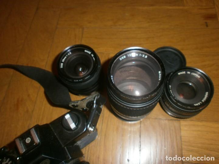 Cámara de fotos: CÁMARA FOTOS YASHICA FX 3 CON 4 OBJETIVOS SIGMA ZOOM 70 MM-DSB 135 MM-DSB 28 MM -ML 50 MM-FILTROS - Foto 4 - 132692578