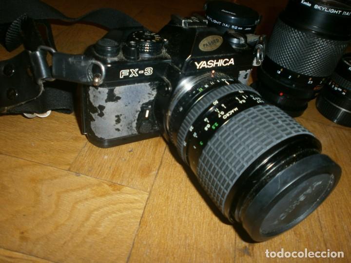 Cámara de fotos: CÁMARA FOTOS YASHICA FX 3 CON 4 OBJETIVOS SIGMA ZOOM 70 MM-DSB 135 MM-DSB 28 MM -ML 50 MM-FILTROS - Foto 5 - 132692578